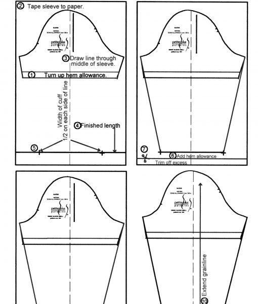 Lengthen Short Sleeve