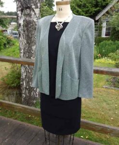 All Season Dress, Slimming Jacket