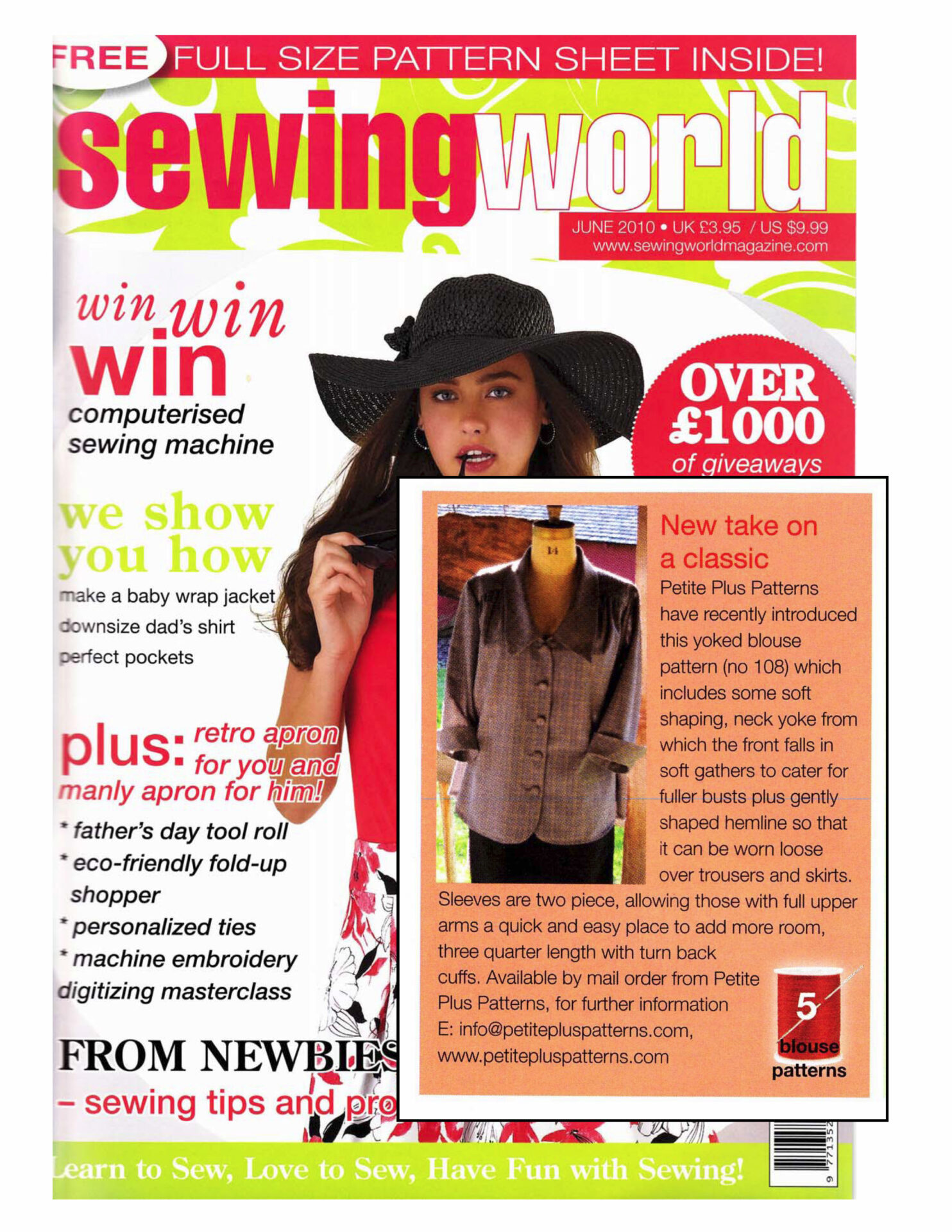 Press reviews sewing world uk june 2010 jeuxipadfo Choice Image