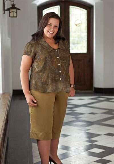 Shapely Blouse, Classic Fly Front Pant