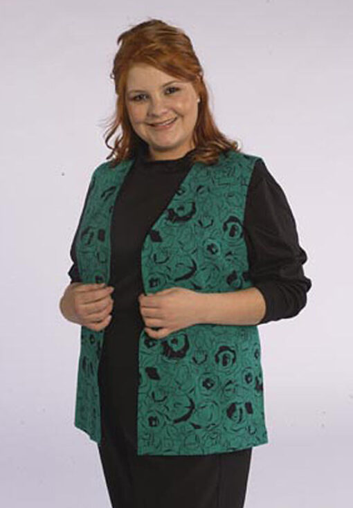 Tunic Length Vest, Sweater Twin Set
