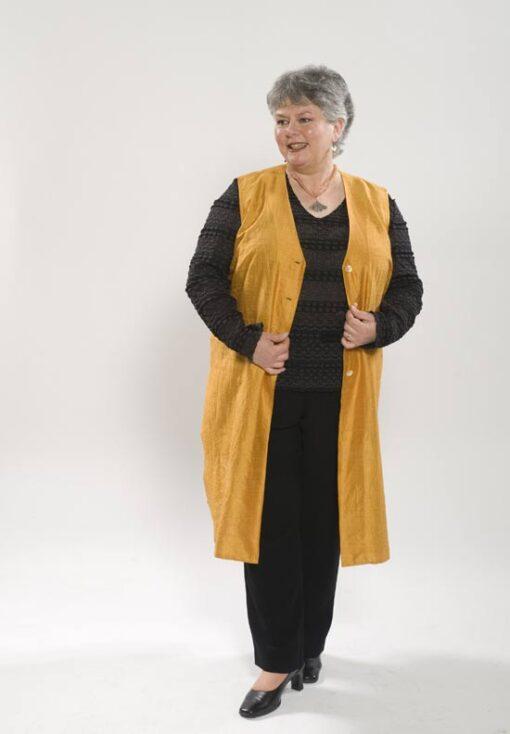 Tunic Length Vest, Sweater Twin Set, Capri Pant