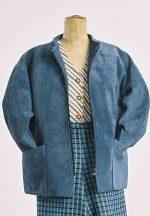 Zip Front Jacket, Flat Front Pant