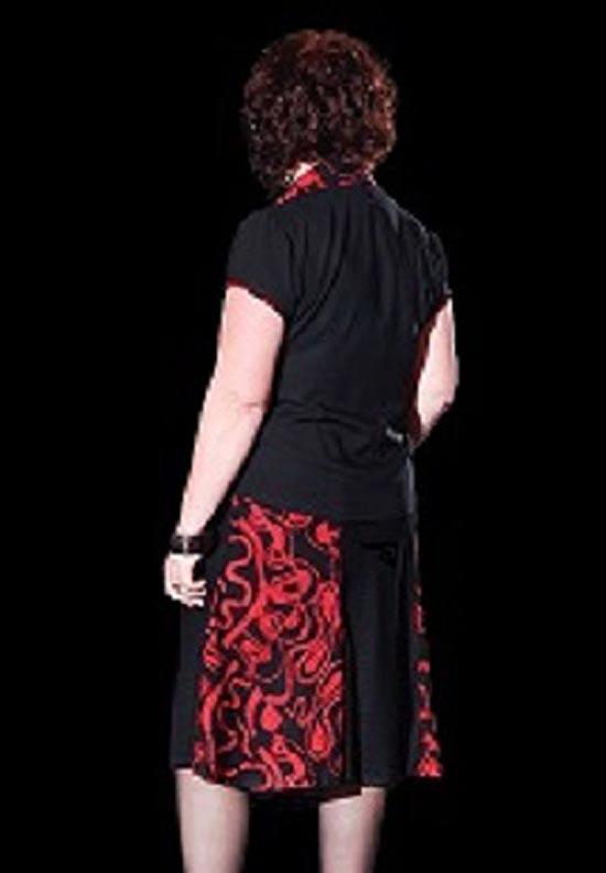 Flirty Skirt, Shapely Blouse