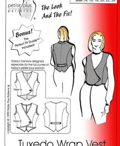 tuxedo wrap vest pattern