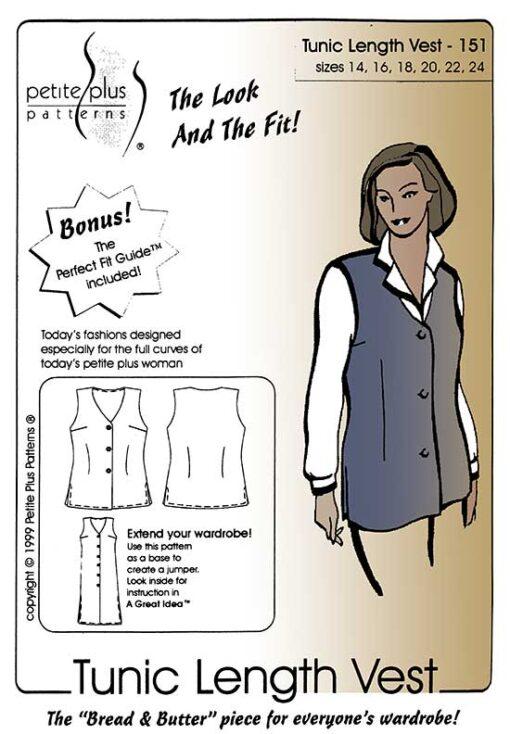 Tunic Length Vest pattern