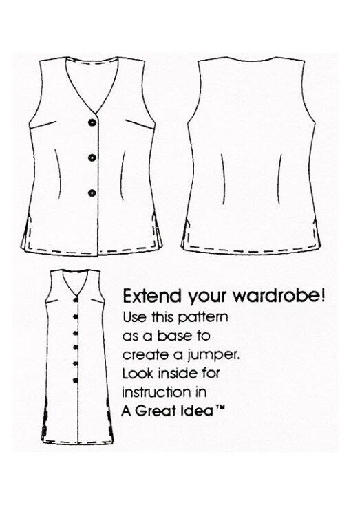 Tunic Length Vest