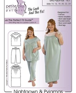 Nightgown PJs pattern