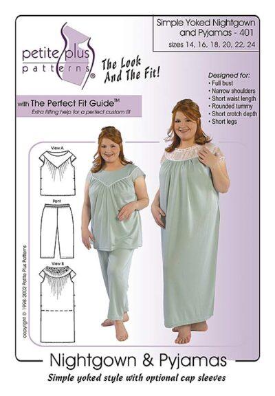Nightgown PJs pattern