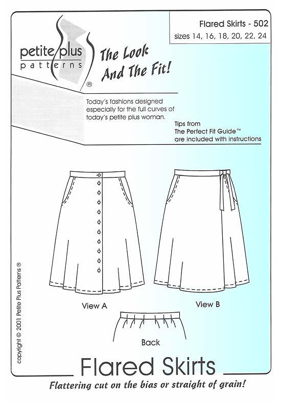 40 Flared Skirt PDF New Skirt Pattern