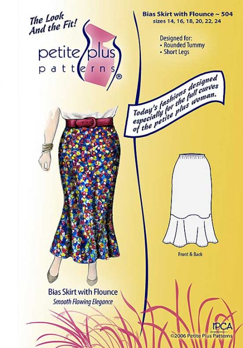 Bias Skirt pattern