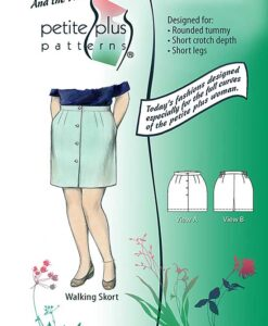walking skort pattern cover