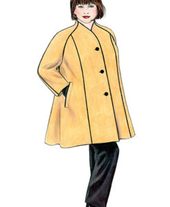 Illustration, Petite Plus Patterns 250 Swing Coat