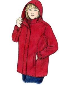 Illustration, Petite Plus Patterns 251, Walking Jacket