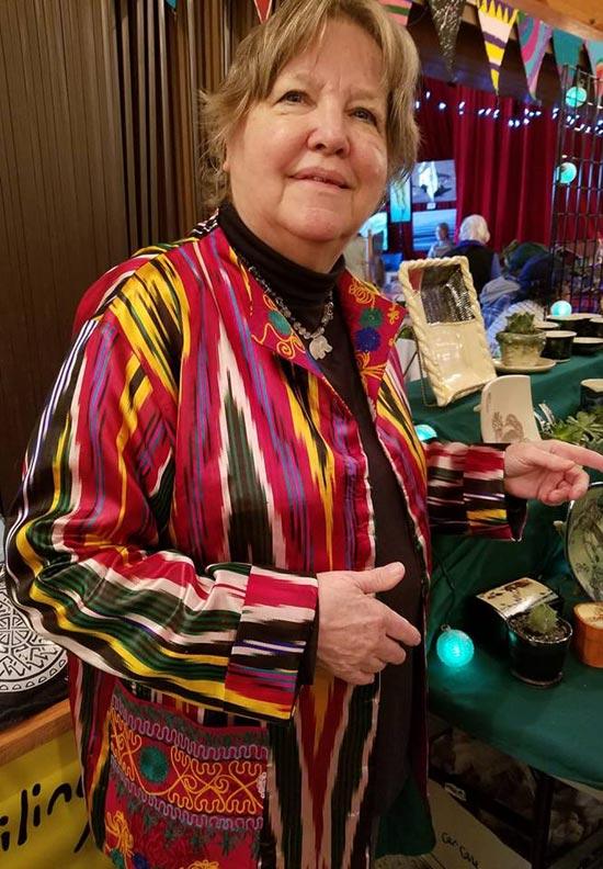 Silk kimono jacket