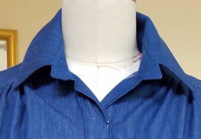 yoked blouse variation
